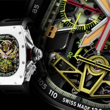 SIHH 2016: Richard Mille RM 50-02 ACJ Tourbillon Split Seconds Chronograph