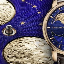 Το HM Double Hemisphere Perpetual Moon Watch της Arnοld & Son