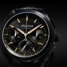 Pre-Basel: Alpina «Full Black» Alpiner 4 Manufacture Flyback Chronograph