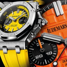 Royal Oak Offshore Diver Chronograph by Audemars Piguet: Χρώμα στον υπερθετικό